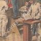 DÉTAILS 04 | Scène de la vie quotidienne à la prison de Fresnes - Paris - 1907