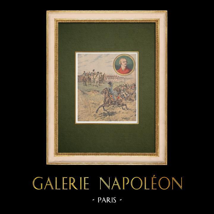 Stampe Antiche & Disegni | Re senza trono - Il figlio di Luigi XVI accusa l'Imperatore - Romanzo storico | Incisione xilografica | 1907