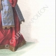 DETAILS 04   Costume of the Court of Louis XII of France - Costume of woman (1510)