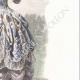 DÉTAILS 04 | Costume de la Cour de Louis XV de France - Costume de femme (1715)