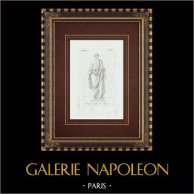 Augusto com uma toga - Galleria Borghese - Roma