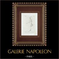 Danse d'une vierge Spartiate - Grèce - Galerie Borghèse - Rome