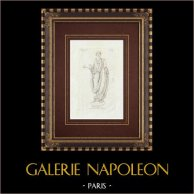 Jovem na toga - Brittanico - Galleria Borghese - Roma