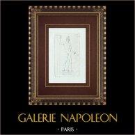 Mars imberbe - Nu masculin - Galerie Borghèse - Rome