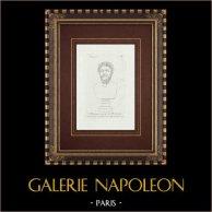 Hoofd van Marcus Aurelius - Romeinse Keizer - Galleria Borghese - Rome