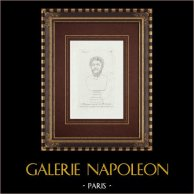 Cabeça de Marco Aurelio - Império Romano - Galleria Borghese - Roma