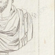 DETAILS 05 | Bust of Lucius Verus - Roman Emperor - Galleria Borghese - Rome
