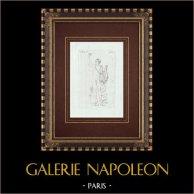 Apollo van de Belvedere ook wel de Pythische Apollo - Galleria Borghese - Rome Genoemd