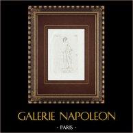 Apolo Licio - Praxiteles - Borghese Galerie - Rom