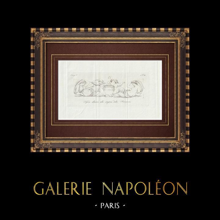 Stampe Antiche & Disegni | Primavera - Allegoria - Galleria Borghese - Roma  | Incisione su rame | 1796