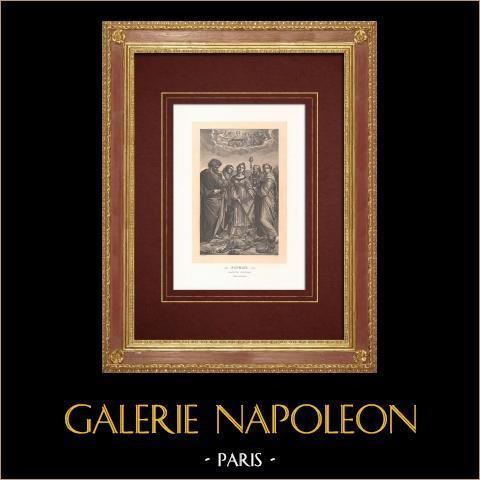 św. Cecilia - Malarstwo Włoskie (Raffaello Sanzio o Nazwie Rafael) |