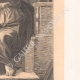 DETTAGLI 04 | Affresco - Cappella Sistina - La Sibilla Delfica (Michelangelo)