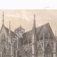 DETTAGLI 02 | Basilica Saint Urbain di Troyes - Vista laterale - Aube (Francia)