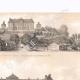 DETTAGLI 02 | Veduta di Brienne - Castello - Napoleone I - Aube (Francia)