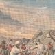 DETTAGLI 01 | Incontro di truppe algerine e sudanese vicino a Timiaouine - Algeria - 1908