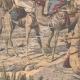 DETTAGLI 02 | Incontro di truppe algerine e sudanese vicino a Timiaouine - Algeria - 1908