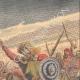 DETTAGLI 03   Confine italo-etiope - Conflitti tra Abissini e Somali - Razzia - Benadir - 1908