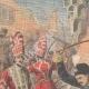 DETTAGLI 01 | Ira di Shah Mohammad Ali dopo l'attentato di Teheran - Iran - 1908