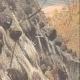 DETAILS 03 | Goppenstein buried by an avalanche - Canton of Valais - Switzerland - 1908