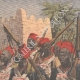 DETAILS 01 | Pacification of Morocco - Senegalese tirailleurs and French troops - 1908