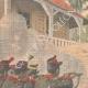 DETAILS 01 | Haitian Revolution - Execution of the insurgents in Port-au-Prince - Haiti - 1908