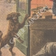 DETAILS 02 | A tradeswoman attacked by thieves and saved by her dog - Paris - 1908