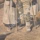 DÉTAILS 05   Conquête du Maroc - Les infirmières françaises soignent les blessés - 1908