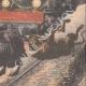 DETTAGLI 04 | Un treno incontra sette tori in il tunnel Cercedilla - Spagna - 1908