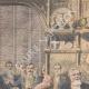 DÉTAILS 01   Armand Fallières au banquet de Guildhall - Londres - Angleterre - 1908