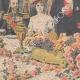 DÉTAILS 02   Armand Fallières au banquet de Guildhall - Londres - Angleterre - 1908