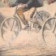 DETTAGLI 03 | Due ciclisti inseguiti da un orso in Corrèze - Francia - 1908