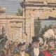 DETAILS 01 | King Alfonso XIII in Zaragoza - Puerta del Carmen - Spain - 1908