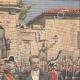 DETAILS 03 | King Alfonso XIII in Zaragoza - Puerta del Carmen - Spain - 1908