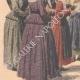 DÉTAILS 02 | Les Bazennes offrent des fleurs à A. Fallières - Dunkerque - 1908