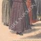 DÉTAILS 05 | Les Bazennes offrent des fleurs à A. Fallières - Dunkerque - 1908