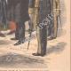 DÉTAILS 06 | Les Bazennes offrent des fleurs à A. Fallières - Dunkerque - 1908