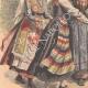 DÉTAILS 02 | Femmes française, danoise, suédoise, norvégienne et russe - Costumes régionaux - 1908