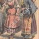 DÉTAILS 04 | Femmes française, danoise, suédoise, norvégienne et russe - Costumes régionaux - 1908