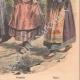 DÉTAILS 06 | Femmes française, danoise, suédoise, norvégienne et russe - Costumes régionaux - 1908