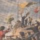 DÉTAILS 03 | Les naufragés des îles Antipode sauvés par un navire de guerre anglais - Nouvelle Zélande - 1908