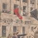 DETTAGLI 01   Sciopero - Combattendo nei paraggi di Bourse du Travail - Parigi - 1908