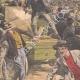 DETTAGLI 02   Sciopero - Combattendo nei paraggi di Bourse du Travail - Parigi - 1908