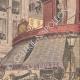 DETTAGLI 03   Sciopero - Combattendo nei paraggi di Bourse du Travail - Parigi - 1908