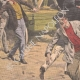 DETTAGLI 05   Sciopero - Combattendo nei paraggi di Bourse du Travail - Parigi - 1908