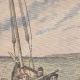 DETALLES 01 | Prisioneros de Belle-Ile matan a su guardián en el mar - 1908