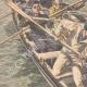DETALLES 02 | Prisioneros de Belle-Ile matan a su guardián en el mar - 1908