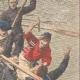DETALLES 04 | Prisioneros de Belle-Ile matan a su guardián en el mar - 1908