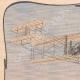 DETTAGLI 01 | Aeroplano - Wilbur Wright - Volo - Champagné - 1908