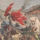 DETTAGLI 01 | Conquista francese del Marocco - Fuga di Moulay Abdelaziz - Marocco - 1908