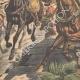 DETTAGLI 02 | Conquista francese del Marocco - Fuga di Moulay Abdelaziz - Marocco - 1908